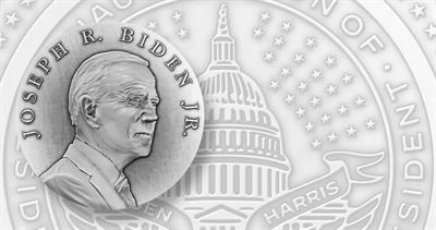 Joseph Biden presidential inaugural medal