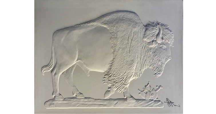bison-relief-mercanti