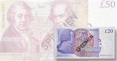 Bank of England old notes
