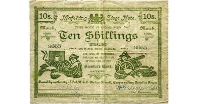 Boer siege note