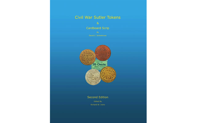 Second edition of sutler token and cardboard scrip book