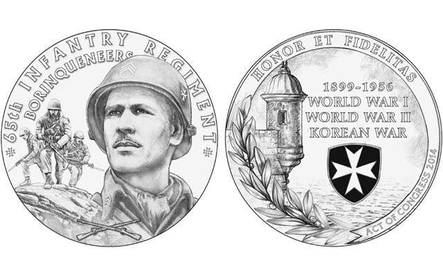 Designs for Borinqueneers' congressional gold medal reviewed by CCAC