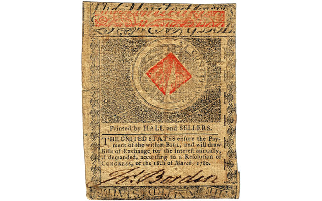 All in the family: Colonial currency signatures