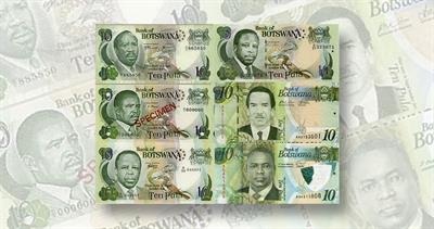 Botswana 10-pula note 2021 issue