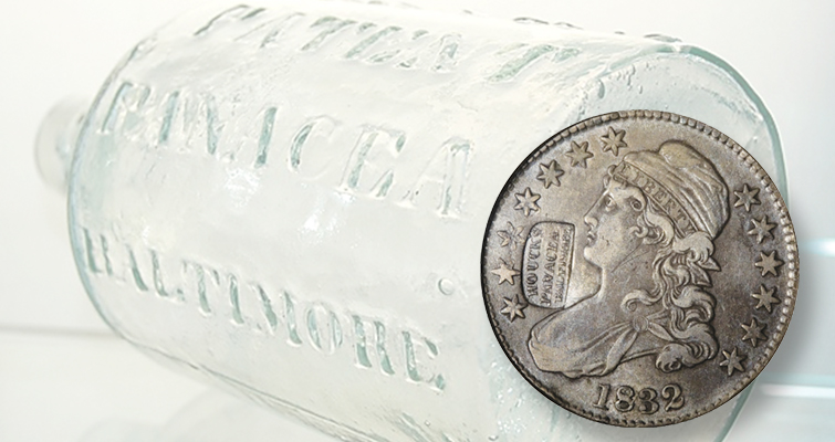 Coins with counterstamps serve as billboards: Designs of the Times