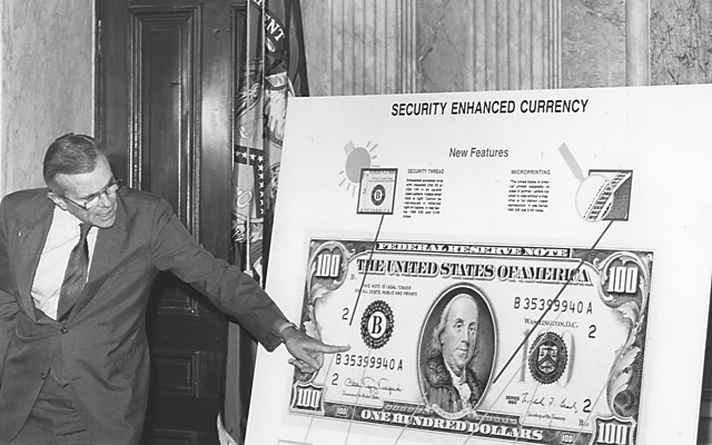 When Large Got Small U S Officials Respond To Paper Money Counterfeiting With Wave Of Design Changes In 1990s 2000s