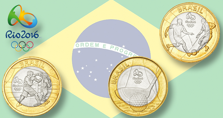 Welcoming the world to Rio de Janeiro with 37 collector coins