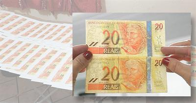 Phony Brazilian currency