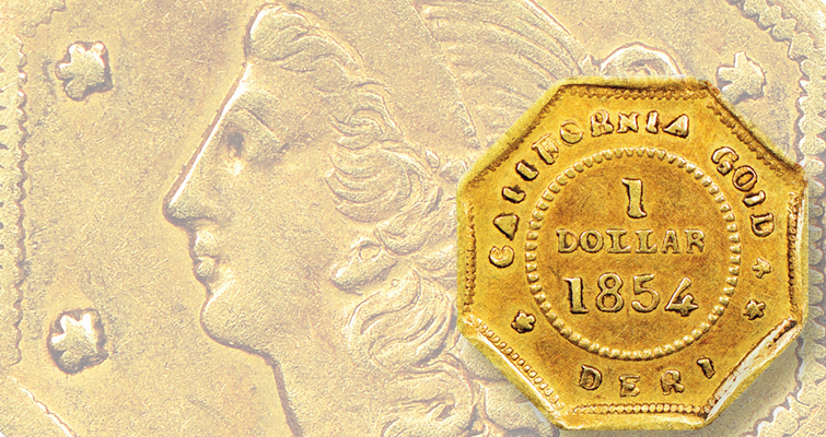 What's new in the world of California small-denomination gold coins?