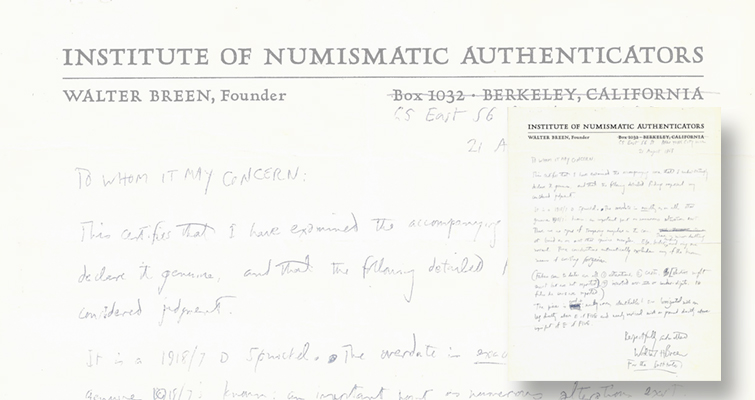 A U.S. coin 'authentication service' in 1962?: Numismatic Bookie
