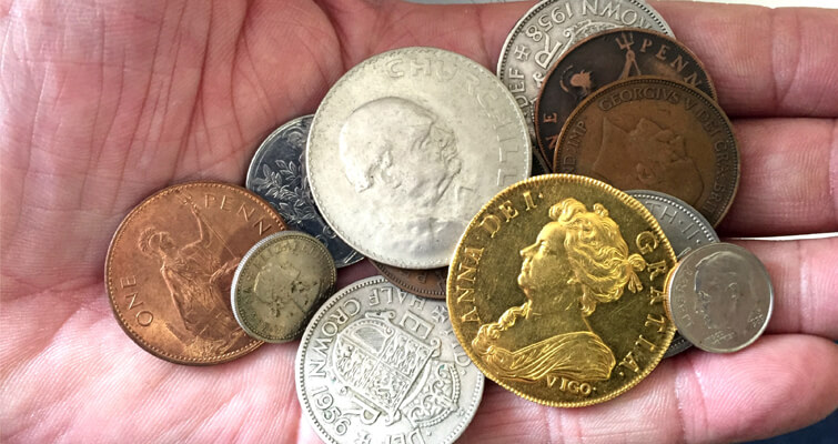 The extremely rare gold coin that was found among a child's 'pirate treasure' cache