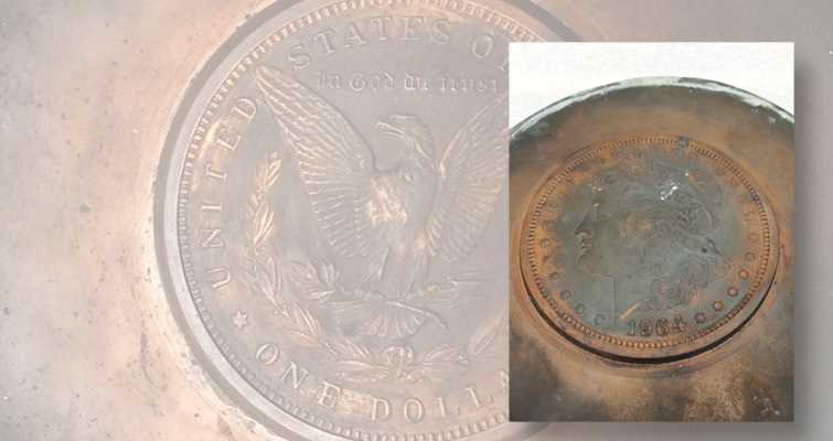 tooling for the 1964 Morgan dollar