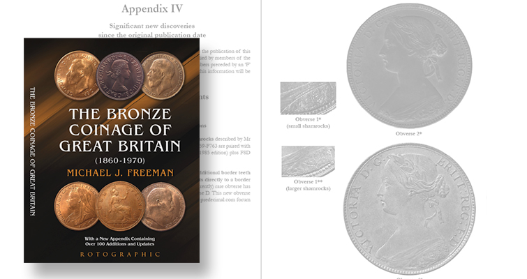 British bronze coin book is updated after more than 30 years
