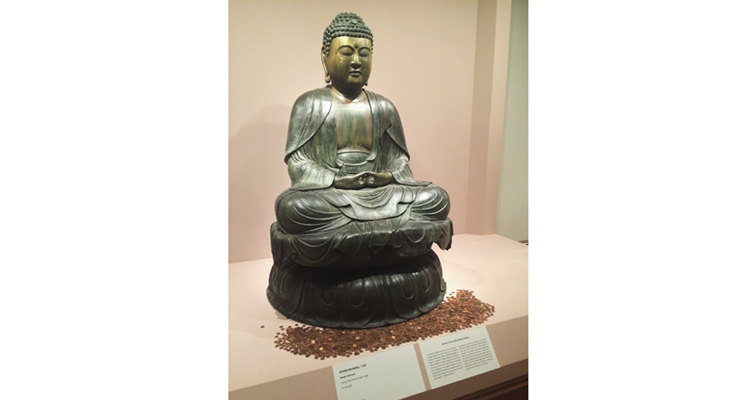 Owsley Museum of Art Buddha pennies