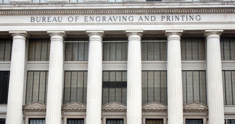 Bureau of Engraving and Printing, D.C. plant