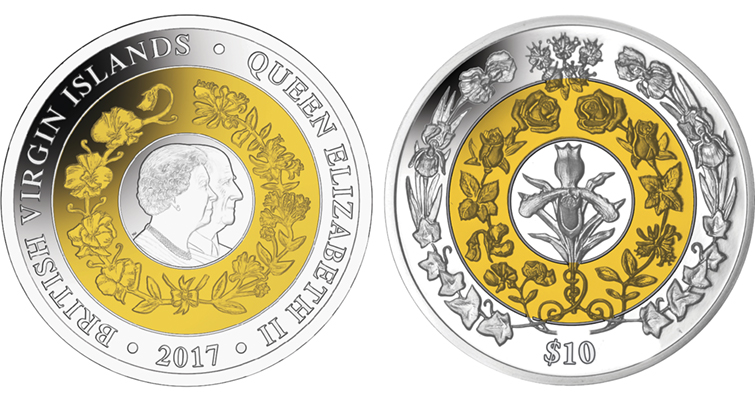 Special British Virgin Islands coin honors monarch's 70th wedding anniversary