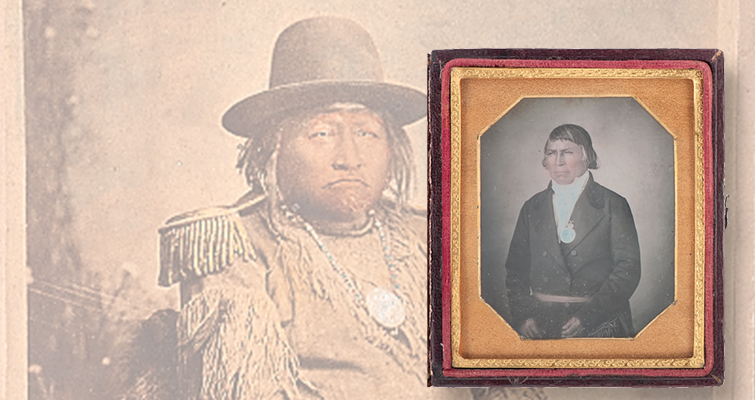 1886 cabinet card of an Apache chief