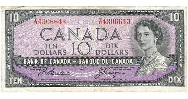 canada-1954-100-dollar-note-ha-face