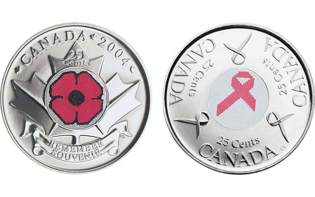 From the palette to the purse: red-letter days for collectors of colorful circulating coins