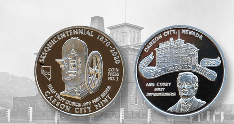 Former Carson City Mint In Nevada Celebrates Its 150th Anniversary