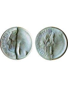 Heavy, brassy 1941 cents probably have a prosaic