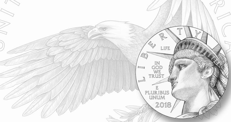 The Proof platinum Eagle designs that got CFA\'s nod | Coin World