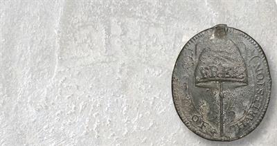 Charleston Free Slave badge