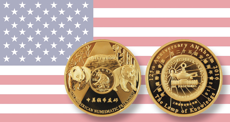 Panda medals make return to ANA World's Fair of Money in August
