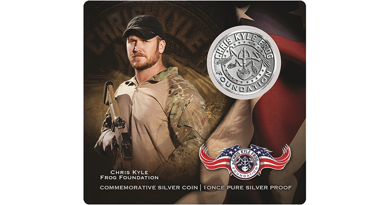 Buy 3 Chris Kyle Texas Copper Coins /& Get 1 FREE