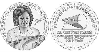 Christine Darden medal