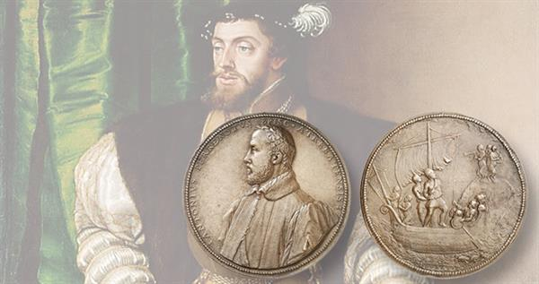 circa-16th-century-bronze-medal-charles-v-painting