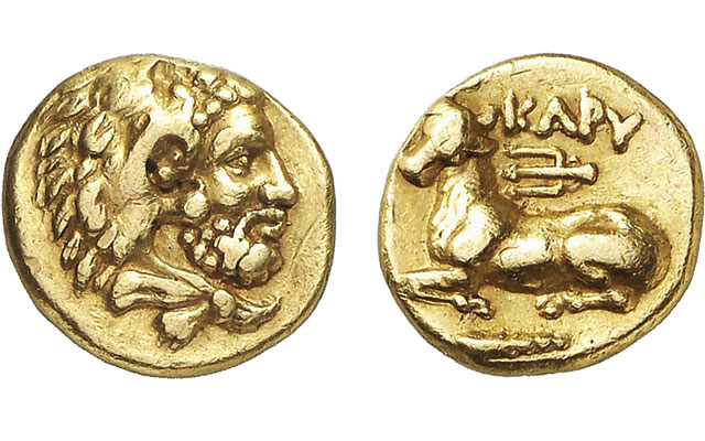 One of 12 gold drachms from Macedonian revolt leads Gorny & Mosch March sales
