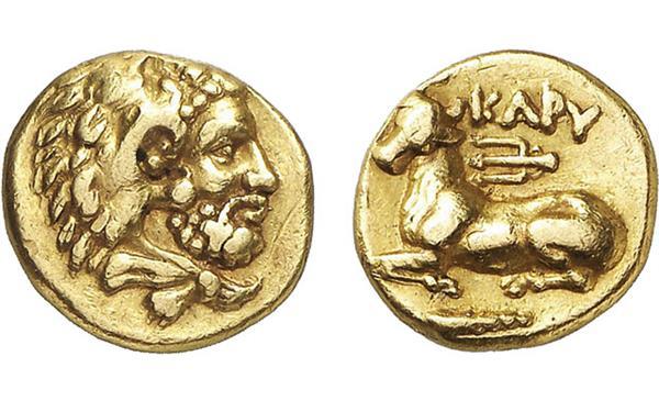 circa-313-bc-gold-drachm-euboia