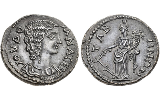 Portraits Of Tyche Fortuna Found On Ancient Coins