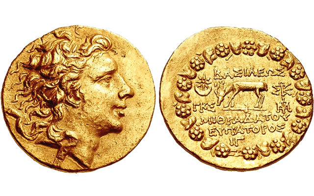 persian gold coin price