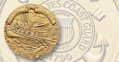Coast Guard Bicentennial bronze medal
