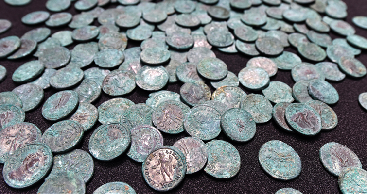 Wold Newton Hoard find of Roman ancients in Britain excites archaeologists