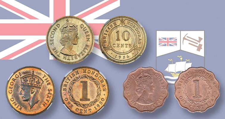 around the world coins of british honduras coin world