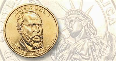 Garfield 2011-D Presidential dollar
