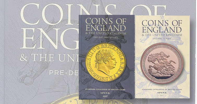 British coin book available from U S  distributor