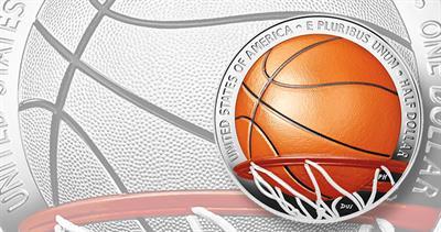Basketball Hall of Fame coins