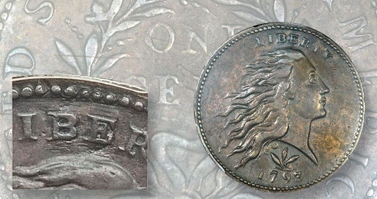 Finding value in a 1793 Flowing Hair, Wreath cent with problems: Market Analysis