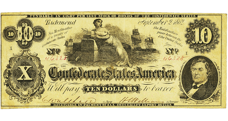 Confederate bank note printer has last laugh: Collecting Paper