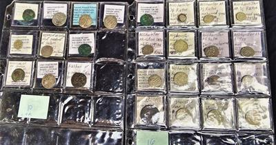 Confiscated coins