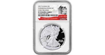 congratulations-set-2017-s-silver-eagle-graded-proof-70-by-ngc