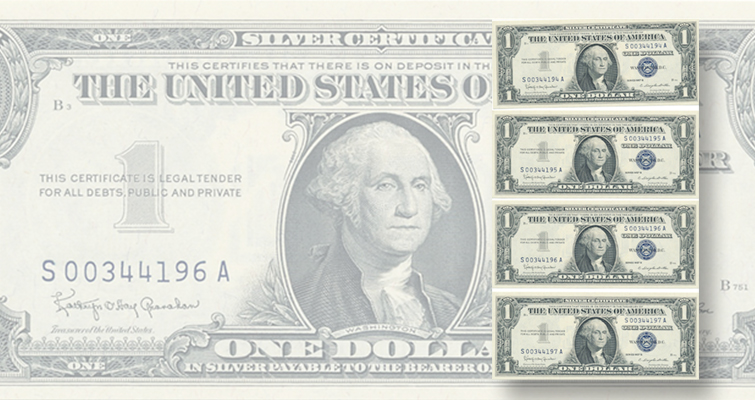 Quinn's offers collection of error notes, fancy serial number notes