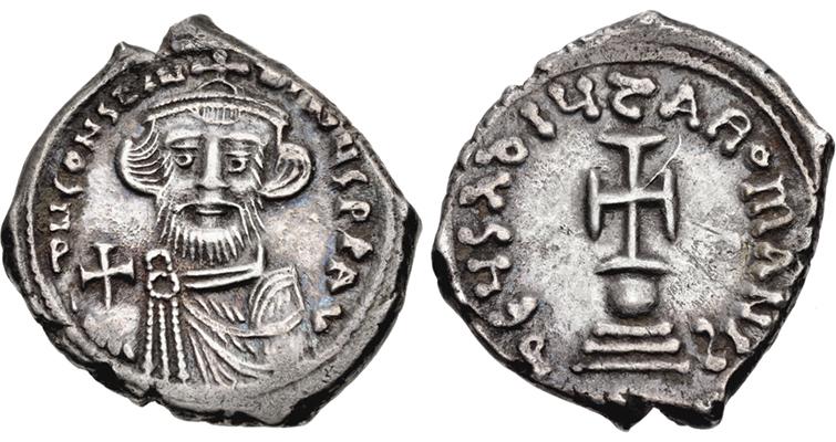 constans-ii-silver-hexagram-circa-648-to-651