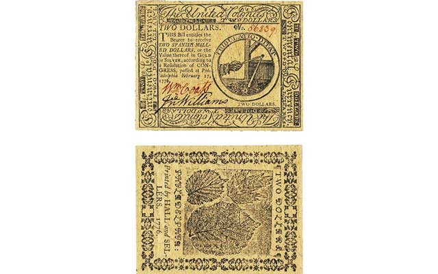 Continental Currency strikes right notes with specialists seeking early American paper collectibles