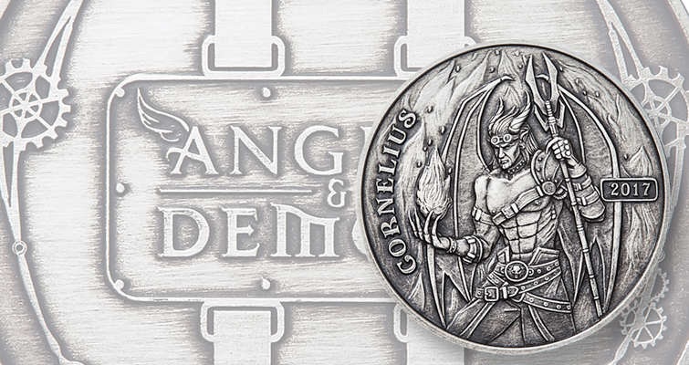 Steampunk Collection offers Angels and Demons 1- and 5-ounce silver rounds