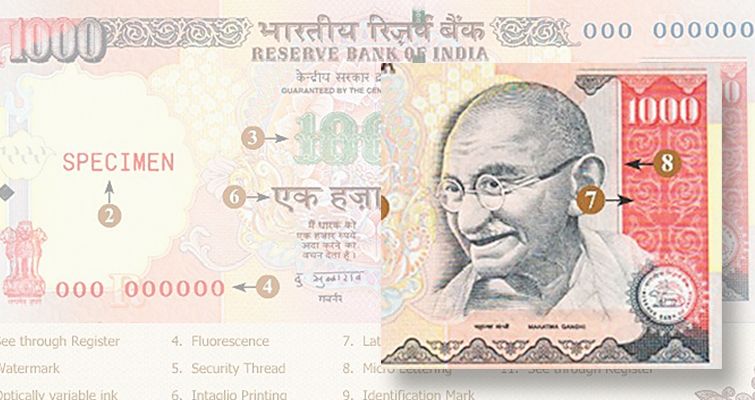 India puts the blame on Pakistan for heavily circulated counterfeit notes